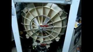 Cambio de rodamientos lavarropas aurora 5117