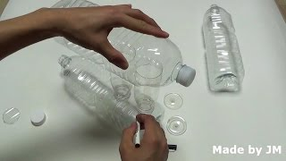 How to make a Solar Water Distiller using plastic bottles.