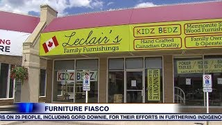 Families allegedly cheated out of thousands in furniture fiasco