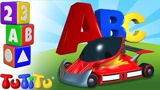TuTiTu Preschool | Race Cars | Learning the Alphabet with TuTiTu ABC