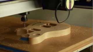 DVD Volume 2: CNC Guitar Machining