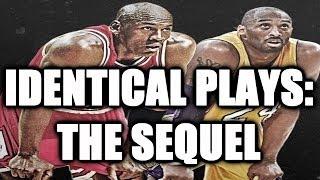 Kobe Bryant vs Michael Jordan - Identical Plays: The Sequel (Part II)