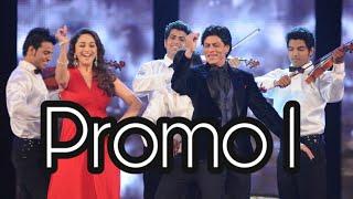 Madhuri Dixit and Srk in star screen award 2012