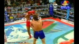 Khmer boxing - Kao Lek Vs. Chan Ratana