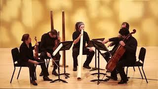 Peter Sculthorpe Quartet no 16 with dijerido (Molinari Quartet, Maxime Éthier)