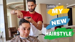 MY NEW HAIRSTYLE 2019 !! By Nikhil Agrawal
