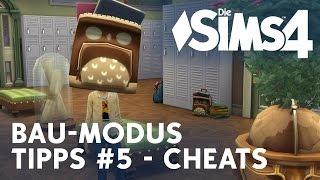 Die Sims 4 Tipps #5: Cheats - MoveObjects und Höhenverstell-Cheat