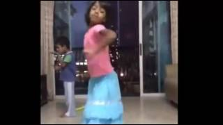 5 year old dance for an Indian Song