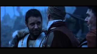 IL GLADIATORE - di Ridley Scott - scena prima della battaglia in Germania