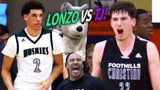 Lonzo Ball VS TJ Leaf In HIGH SCHOOL! Chino Hills ENDS TJ Leaf's High School Career With A LOSS!