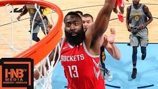 Houston Rockets vs Memphis Grizzlies Full Game Highlights | 12.15.2018, NBA Season