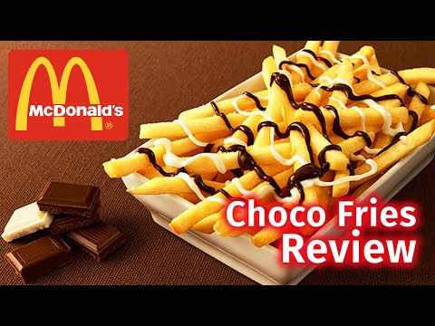 McDonald s Chocolate Fries Review Japan Exclusive