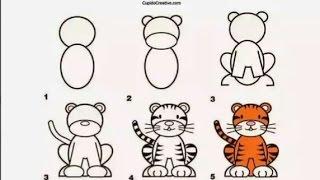 Cara Mudah Menggambar Dengan Menggunakan Angka