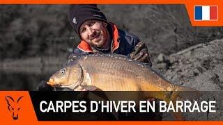CARPES D'HIVER EN BARRAGE Avec Éric Delcroix
