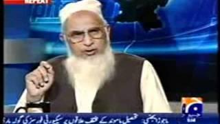 CAPITAL TALK GEO TV...........maulana zahid ur rashidi