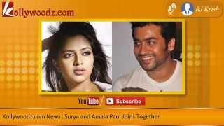 Surya and Amala Paul Joins Together
