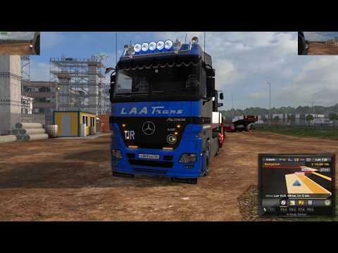 Xxx Mp4 Euro Truck Simulator 2 1 28 Mercedes Actros MP2 V7 0 Nikola Edit 1 28 DLC S Mods 3gp Sex