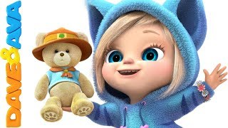 😜 Nursery Rhymes & Kids Songs | Baby Songs from Dave and Ava 😜