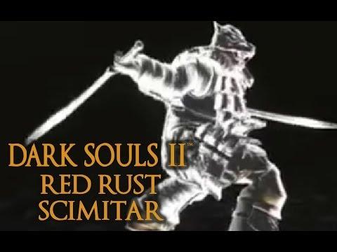 Dark Souls 2 Red Rust Scimitar Tutorial (dual wielding w/ power stance)