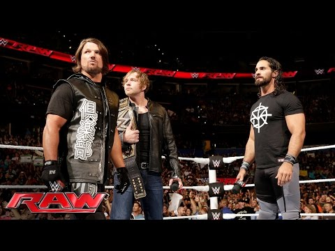 Xxx Mp4 Seth Rollins And Dean Ambrose Address The Roman Reigns Controversy Raw June 27 2016 3gp Sex