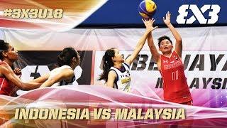 Indonesia shock Malaysia in the final - Full Game - Asia Cup U18 - FIBA 3x3