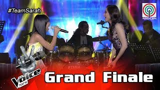 The Voice Teens Philippines Grand Finale: Coach Sarah & Jona - Better Days