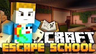 Minecraft: ESCAPE THE SCHOOL - EVIL HEAD MASTER!