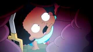 The Cleveland Show - Rallo stuck under Kendra
