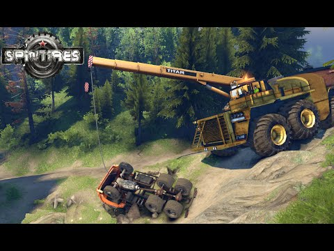SPINTIRES 2014 - The River Map - Kraz 256B Dump Truck ...: http://www.vidoevo.com/video/ai1PNEJmcWuRpVEZtYjQ/spintires-2014-the-river-map-kraz-256b-dump-truck-transporting-logs