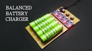 How to make Balanced Battery Charger at home