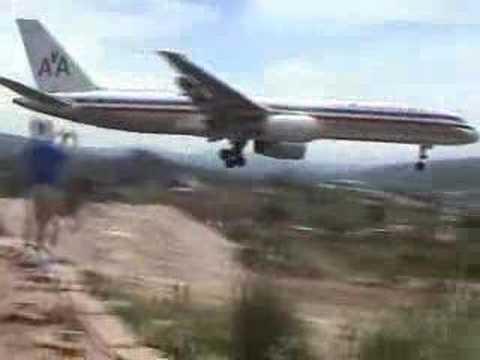 pouso espetacular de um 757