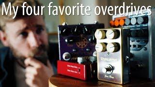 4 Legendary Overdrives | GREAT TONE!