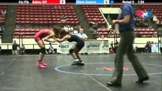 WM 44 KG - RR3 - Ashley Iliff (King) vs. Allene Somera (NYAC)