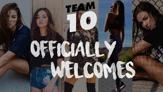 TEAM 10 OFFICIALLY WELCOMES ERIKA COSTELL