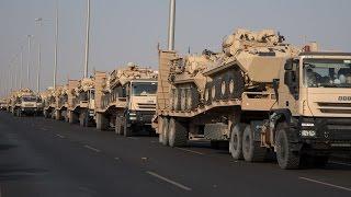 طلائع إضافية من قوات الحرس الوطني تصل نجران وقودها الإيمان وشعارها النصر أو الشهادة