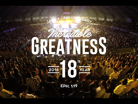 INCREDIBLE GREATNESS - The JA1 Church 18th Anniversary Celebration - COTILLION