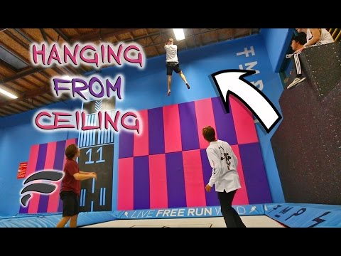 RISKY SUPER TRAMPOLINE TRICKS