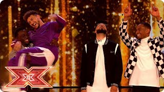 Rak-Su take on Grace Davies in the Prize Fight   Live Shows   The X Factor 2017
