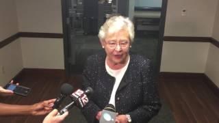 Gov. Kay Ivey on election decision