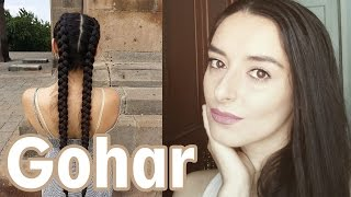 Gohar Shahnazaryan #1 beautiful long hair