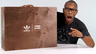 UNBOXING: INSANE adidas BOOST Sneaker Package From Pharrell Williams