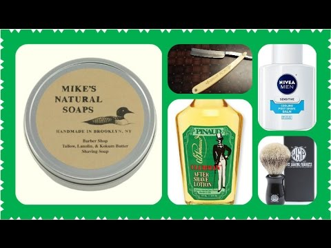 Mike's Natural Soaps, Wostenholm, WSP, Clubman, Nivea
