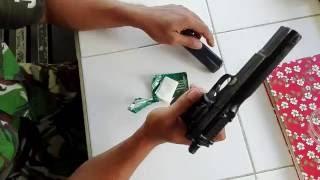 Cara bongkar pasang pistol FN 46 pindad standarisasi perawatan