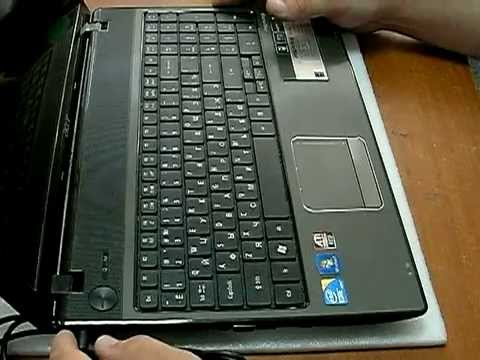 Замена видеокарты в ноутбуке acer aspire 7520g - дискретное видео