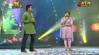 Bangla Song Arfin Rumey And Nancy Chithi Bathashe Kan Pathea Mahmud Khan 2011   YouTube