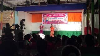 Naga girl in desi dance