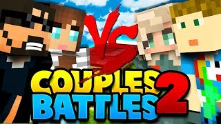 ARE GIRLS BETTER AT PVP?! | Minecraft Bed Wars 2v2