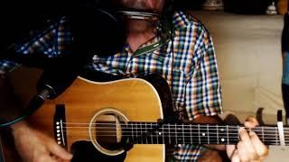 Searching for a Heart ~ Warren Zevon - Don Henley ~ Cover w/ Martin D-28 1976 Vintage & Bluesharp