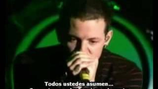 Linkin Park-Breaking the habit sub(esp)