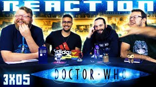 Doctor Who 3x5 REACTION!!